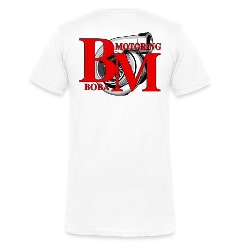 Boba-Motoring Fan Logo - Männer Bio-T-Shirt mit V-Ausschnitt von Stanley & Stella