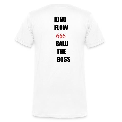 BALUTHEBOSS UND KINGFLOW 666-SHIRT - Männer Bio-T-Shirt mit V-Ausschnitt von Stanley & Stella