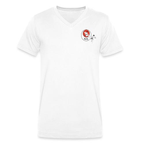 KVFL Logo - Männer Bio-T-Shirt mit V-Ausschnitt von Stanley & Stella