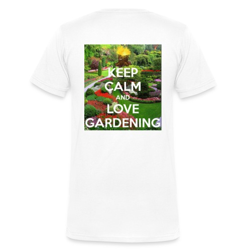 Do not buy for my garden business only copy right - Men's Organic V-Neck T-Shirt by Stanley & Stella