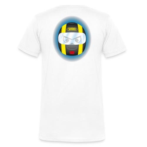 Xiyitifuride Quadri - T-shirt bio col V Stanley & Stella Homme