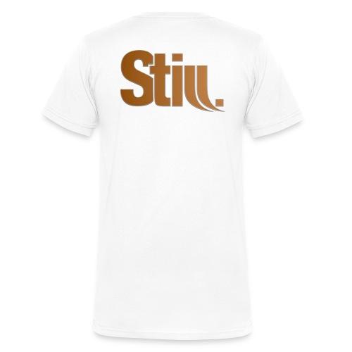 still groß png - Männer Bio-T-Shirt mit V-Ausschnitt von Stanley & Stella
