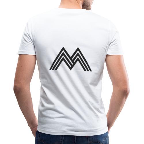 Merchandise With Deejay Michiel logo - Mannen bio T-shirt met V-hals van Stanley & Stella