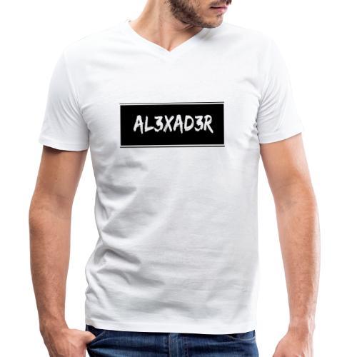 AL3XAD3R Merchandising - Männer Bio-T-Shirt mit V-Ausschnitt von Stanley & Stella