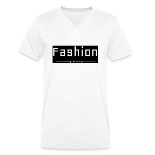 fashion kombo - Mannen bio T-shirt met V-hals van Stanley & Stella