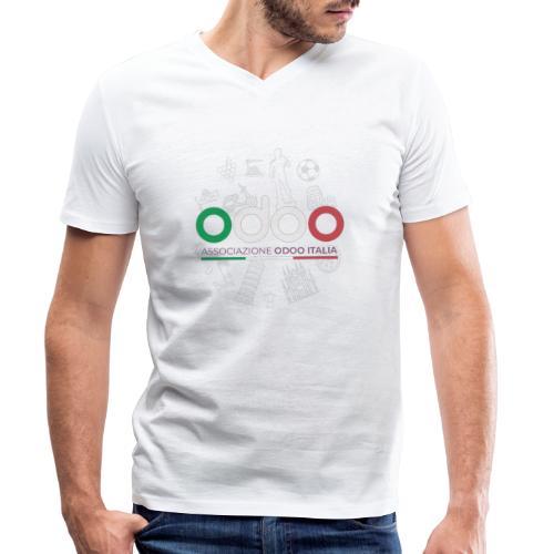 Odoo Days Italia 2020 - T-shirt ecologica da uomo con scollo a V di Stanley & Stella