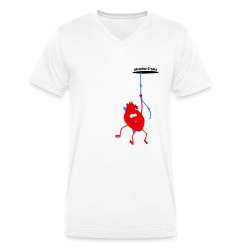 Michel le Cœur - Débardeur Femme - T-shirt bio col V Stanley & Stella Homme