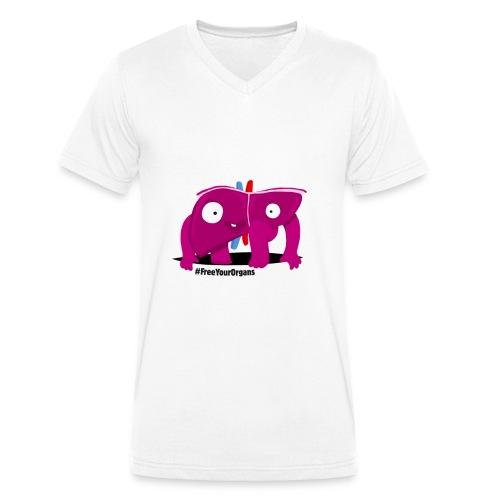 Gérard le Foie - Débardeur Femme - T-shirt bio col V Stanley & Stella Homme