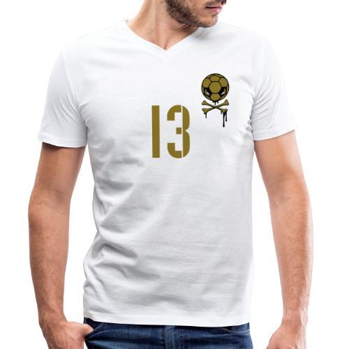 Debakel 13 - Männer Bio-T-Shirt mit V-Ausschnitt von Stanley & Stella