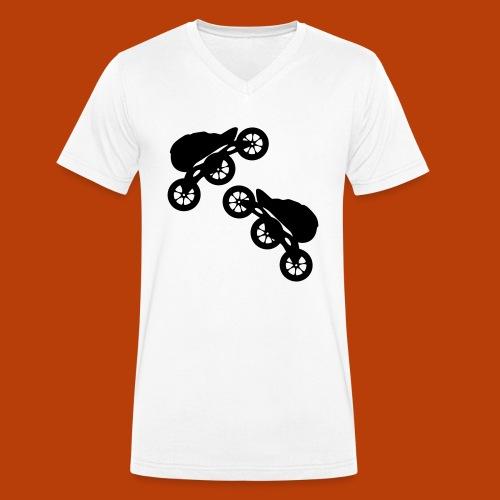skates 125mm - Männer Bio-T-Shirt mit V-Ausschnitt von Stanley & Stella