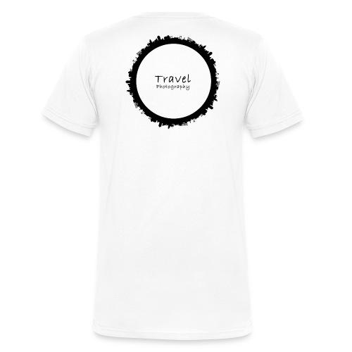 Reisefotografie - Travel Photography Design - Männer Bio-T-Shirt mit V-Ausschnitt von Stanley & Stella