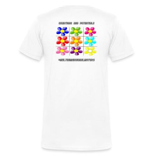 logo of my #MultiDimensionalMotors blog - T-shirt ecologica da uomo con scollo a V di Stanley & Stella