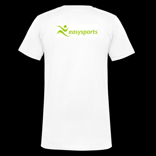easysports pur - Männer Bio-T-Shirt mit V-Ausschnitt von Stanley & Stella