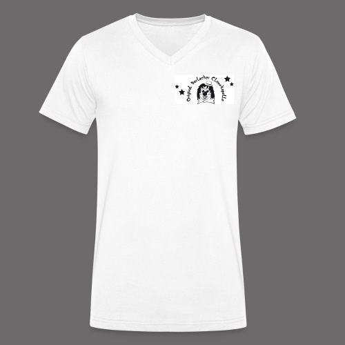 clown front 1 - Männer Bio-T-Shirt mit V-Ausschnitt von Stanley & Stella