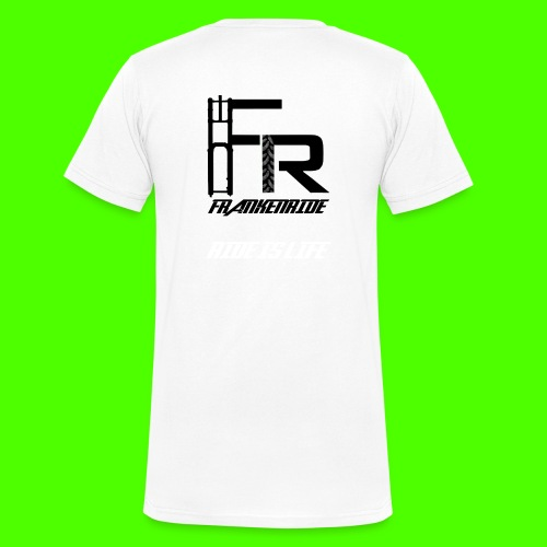 Frankenride logo 2016 - Männer Bio-T-Shirt mit V-Ausschnitt von Stanley & Stella