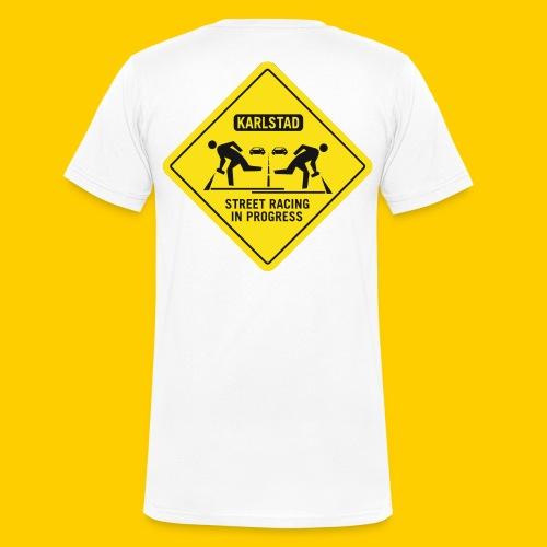 karlstad streetrace - Ekologisk T-shirt med V-ringning herr från Stanley & Stella