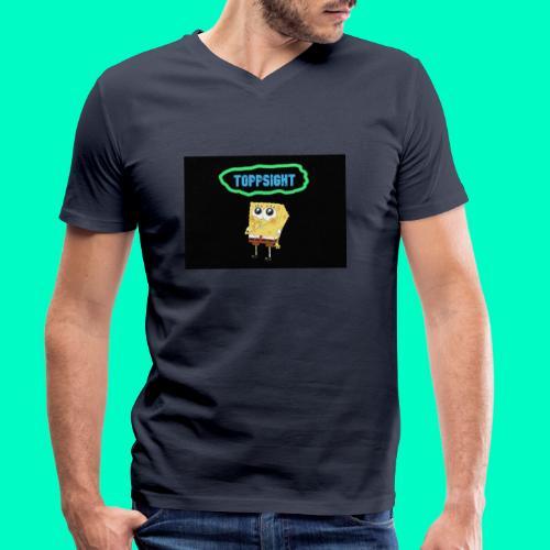 Topsight - Ekologisk T-shirt med V-ringning herr från Stanley & Stella