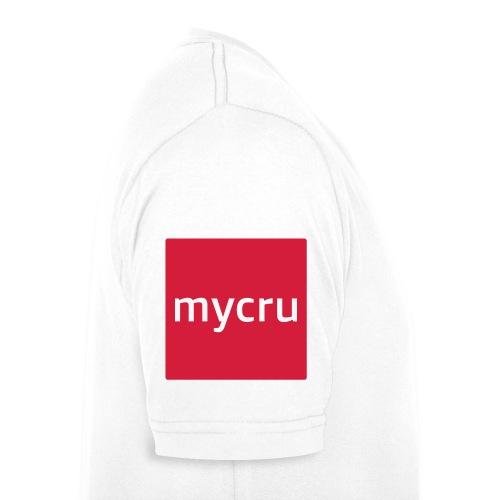 mycru logo - Men's Organic V-Neck T-Shirt by Stanley & Stella