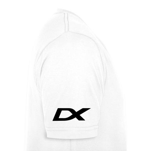 dxlogo - Økologisk T-skjorte med V-hals for menn fra Stanley & Stella