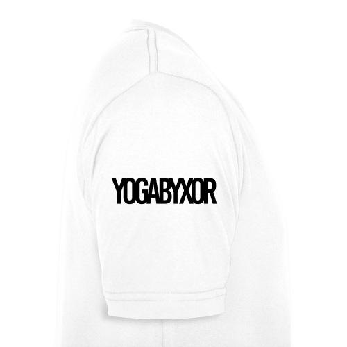 yogabyxor1 - Ekologisk T-shirt med V-ringning herr från Stanley & Stella