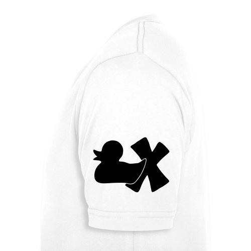 Ente mit X v3 3 klein - Männer Bio-T-Shirt mit V-Ausschnitt von Stanley & Stella