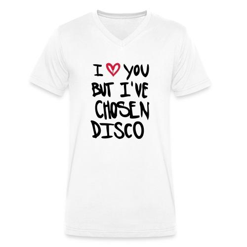 I love you but disco... - Männer Bio-T-Shirt mit V-Ausschnitt von Stanley & Stella