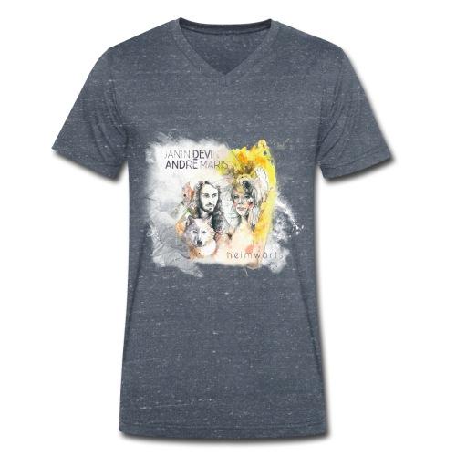 Heimwärts - Männer Bio-T-Shirt mit V-Ausschnitt von Stanley & Stella