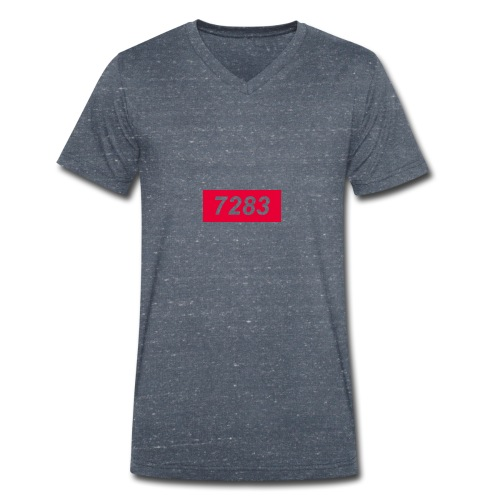 7283-Red - Men's Organic V-Neck T-Shirt by Stanley & Stella