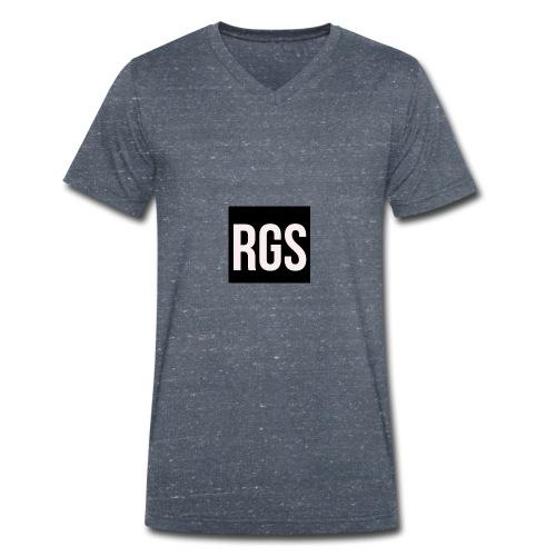RGS_Profile_Logo - Men's Organic V-Neck T-Shirt by Stanley & Stella