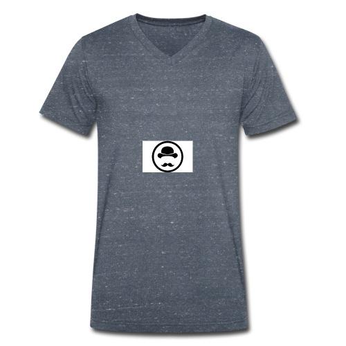 Bigote Logo La Trompa - Camiseta ecológica hombre con cuello de pico de Stanley & Stella