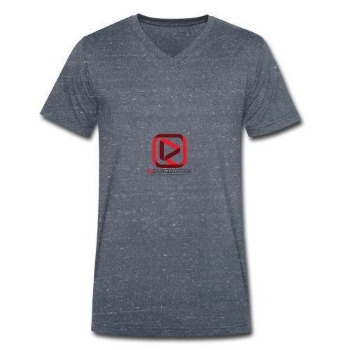 Sender Logo - Männer Bio-T-Shirt mit V-Ausschnitt von Stanley & Stella