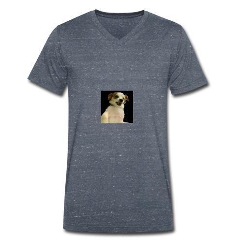 Ich bin nicht aggresiv - Männer Bio-T-Shirt mit V-Ausschnitt von Stanley & Stella