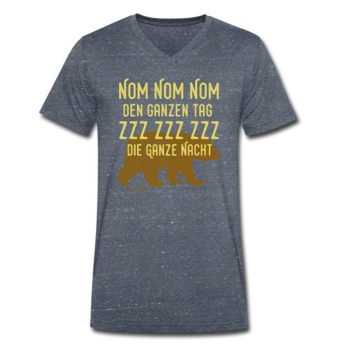NomNom-Summer - Männer Bio-T-Shirt mit V-Ausschnitt von Stanley & Stella