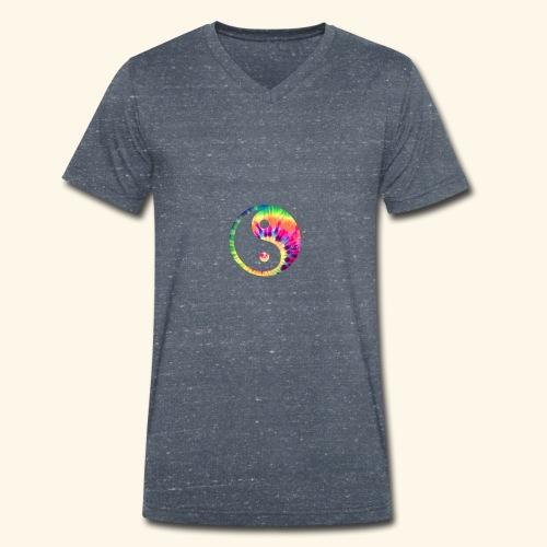 Distant - Men's Organic V-Neck T-Shirt by Stanley & Stella