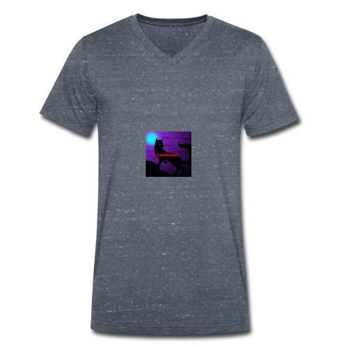 Th3G4m3rWolf - Men's Organic V-Neck T-Shirt by Stanley & Stella