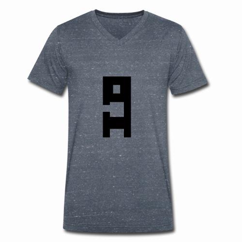 Herbert ohne weiße Kontur - Männer Bio-T-Shirt mit V-Ausschnitt von Stanley & Stella