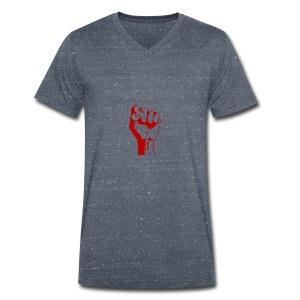 revolutie t shirt - Mannen bio T-shirt met V-hals van Stanley & Stella