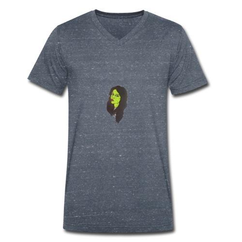 Zombie Girl - T-shirt ecologica da uomo con scollo a V di Stanley & Stella