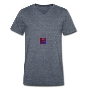 JustGamingLTD-png - Mannen bio T-shirt met V-hals van Stanley & Stella