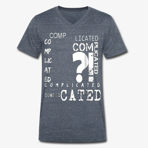 complicated - T-shirt bio col V Stanley & Stella Homme