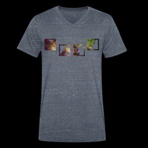 Galaxy Bunt - Männer Bio-T-Shirt mit V-Ausschnitt von Stanley & Stella
