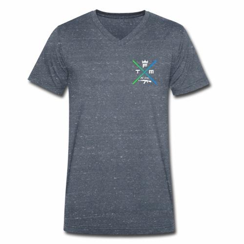 FeelTheMusic - Männer Bio-T-Shirt mit V-Ausschnitt von Stanley & Stella