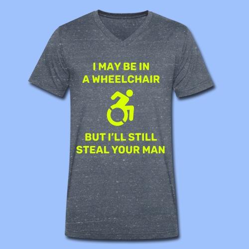 Steal2 - Men's Organic V-Neck T-Shirt by Stanley & Stella