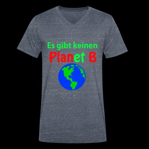 Es gibt keinen Plan B - Männer Bio-T-Shirt mit V-Ausschnitt von Stanley & Stella