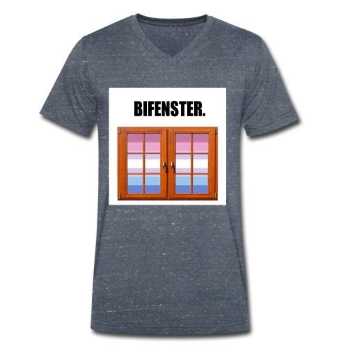 Bifenster. - Männer Bio-T-Shirt mit V-Ausschnitt von Stanley & Stella