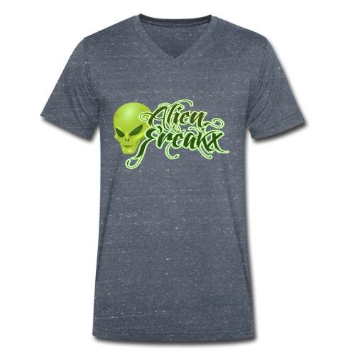 Alien Freakx - Männer Bio-T-Shirt mit V-Ausschnitt von Stanley & Stella