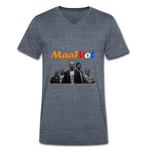 Maatvol Fan shirt Heren - Mannen bio T-shirt met V-hals van Stanley & Stella