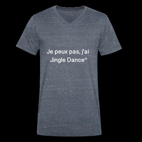 Je peux pas, j'ai Jingle Dance_BLACK - T-shirt bio col V Stanley & Stella Homme