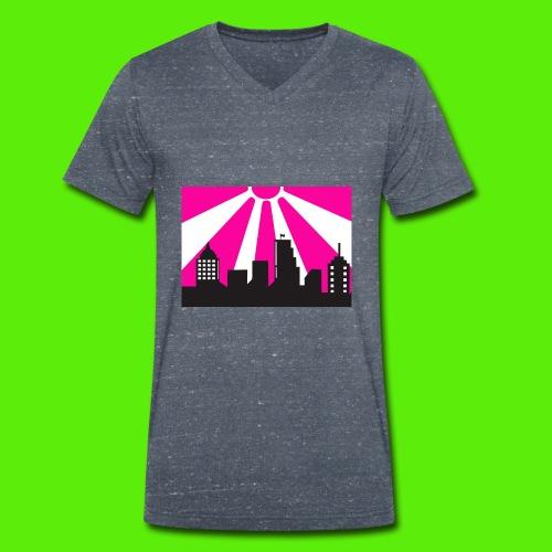 sun swag - T-shirt ecologica da uomo con scollo a V di Stanley & Stella
