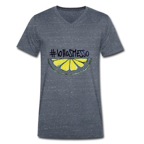 IoHoSmesso - T-shirt ecologica da uomo con scollo a V di Stanley & Stella